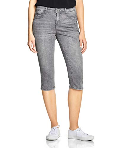 Street One Damen Emmo Jeans, Grau (Light Grey Authentic Washed), 26W/18L (Herstellergröße:26)
