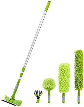 Amazon Basics Multi-Purpose Extension Pole Cleaning Kit