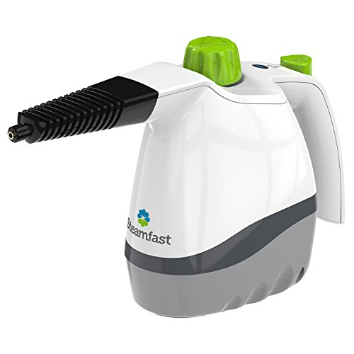 Steamfast SF-210 Steam Cleaner with 6 Accessories, Handheld, White