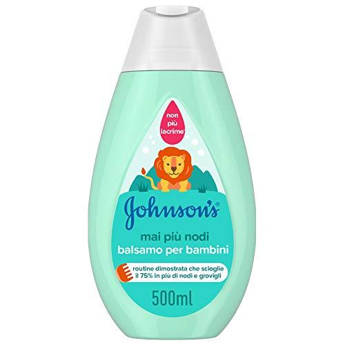 Johnson s Baby Balsamo Capelli, Mai più Nodi, per Bambini, 500 ml