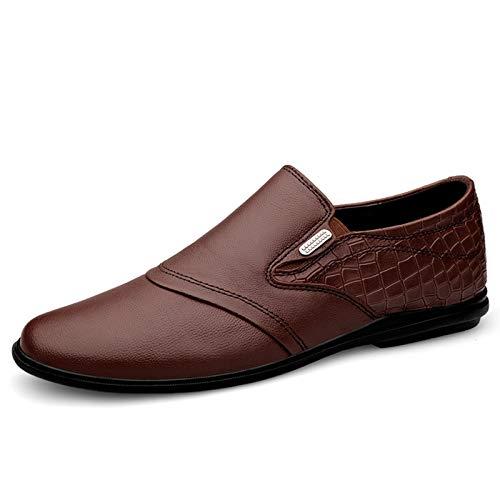 Zapatos de vestir de los hombres en un pie Slip-On Casuales para...