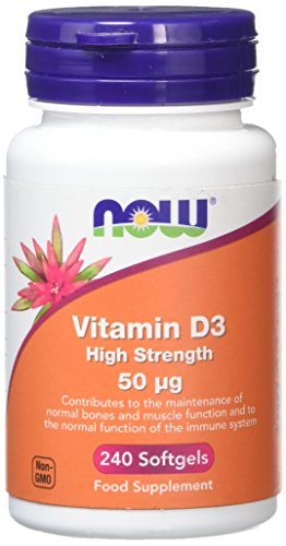 Now Foods Vitamin D3 High Strength, 240 Soft Gels