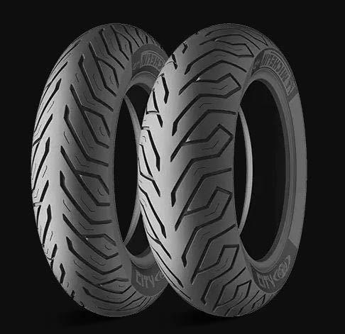 Paire de pneus Michelin City Grip 110/90-13 56P 130/70-13 63P DOT 2017