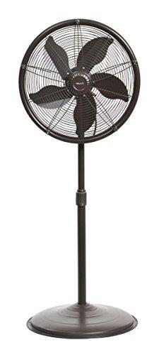 NewAir AF-600 Outdoor Misting Fan, sq. ft. Coverage, 600 Square Foot Effective Range