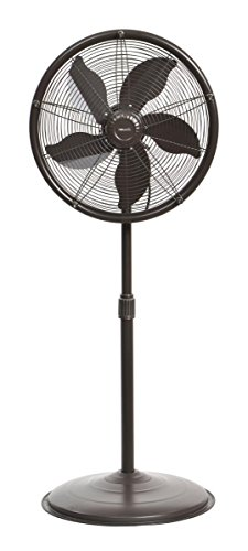 NewAir Outdoor Misting Fan Oscillating All Steel...