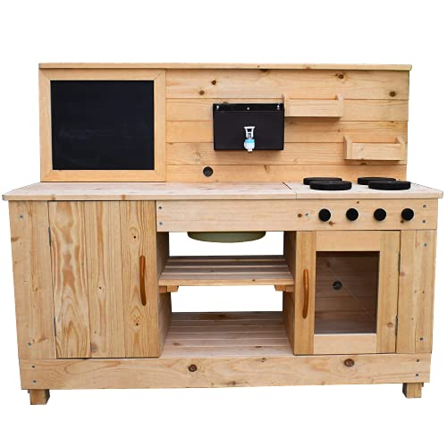 Big Game Hunters Mud Kitchen XL Outdoor Water, Sand and Mud Play for Kids