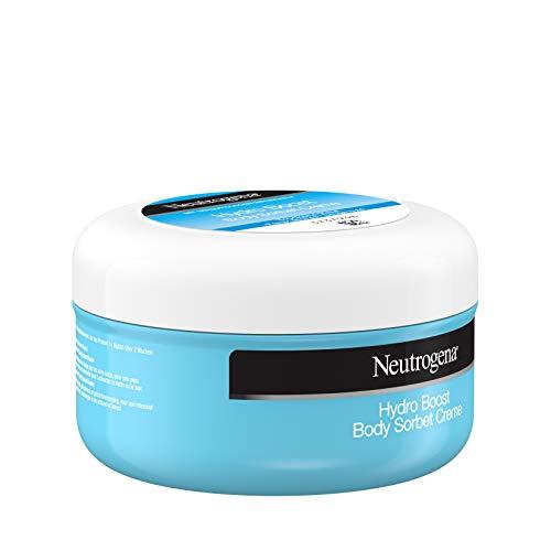 Neutrogena Hydro Boost Bodylotion Sorbet, mit Hyaluron, ultra-leichte und samtige Formel, für trockene Haut, 200ml