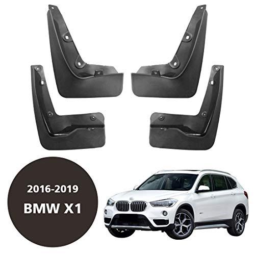 CStern Autospatbord, ABS-kunststof, voor BMW X1, F48 2016-2019, voor- en achterbanden