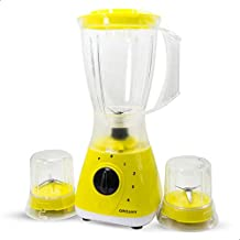Grouhy EH-G-033201-SW.E Blender With 2 Grinders - 400 Watt, Yellow