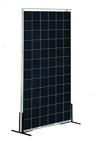 SunneSolar - Panel Solar Policristalino de 160W, 12V y 36 células ideal Para Vivienda Habitual Chalets e Instalaciones en Casas de Campo