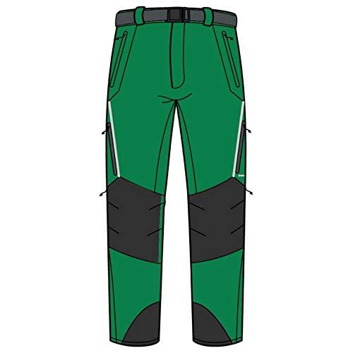 Trango Pant. Long prote Extreme DS – Pantalon, Homme, Vert (Vert/Anthracite)