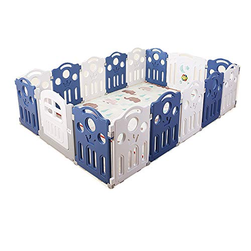 Best Deals! Baby Playpen Safety Play Center Yard Baby Kids Home Indoor Outdoor Pen 12 Panel,Free Ins...
