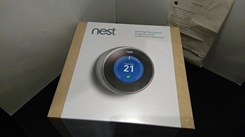 Brand New & Sealed - Nest Smart Learning Thermostat 2nd Generation Model T200477