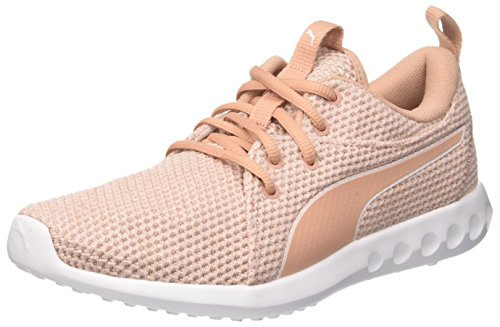 Puma Carson 2 Nature Knit Wn's, Zapatillas de Cross Mujer, Rosa (Pearl-Peach...