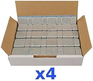 4 x 6 kg 24 kg självhäftande vikter självhäftande stänger balansvikter 5 g (0,18 oz) x 4 +10 G* 4 400 lås