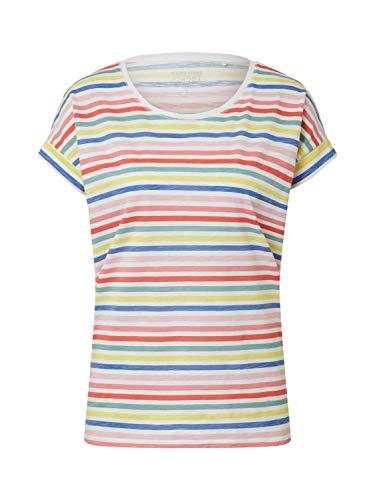Esprit Damen 990EE1K307 T-Shirt, 101/WHITE 2, S