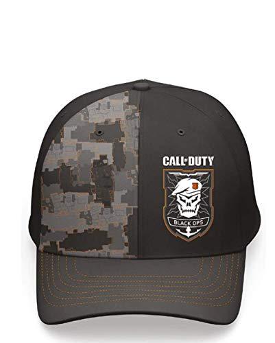 Call of Duty Black Ops 4 Snapback - Gorra, Negro/Camo, Talla única