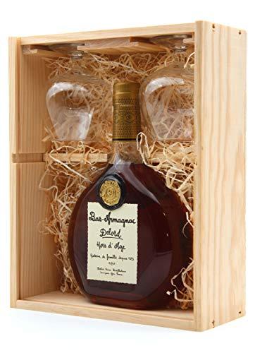 Armagnac Delord Hors d Age + 2 verres - 40° - 70cl