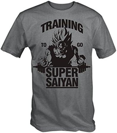 6TN Hombres Que entrenan para IR Super Saiyan T Shirt