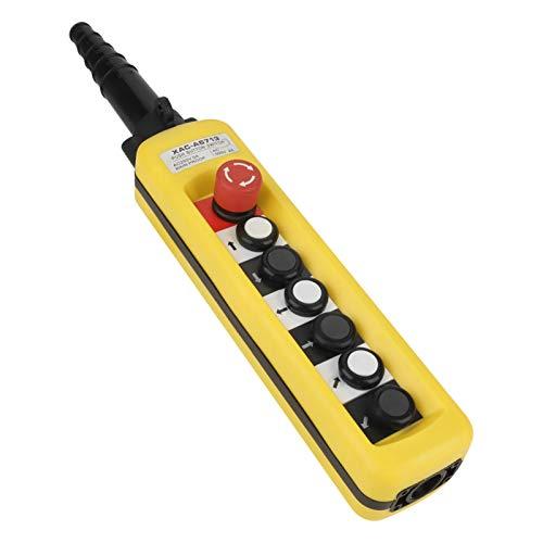 Control colgante de la grúa, estación de control de la grúa, muchos botones de control durable para la grúa del alzamiento