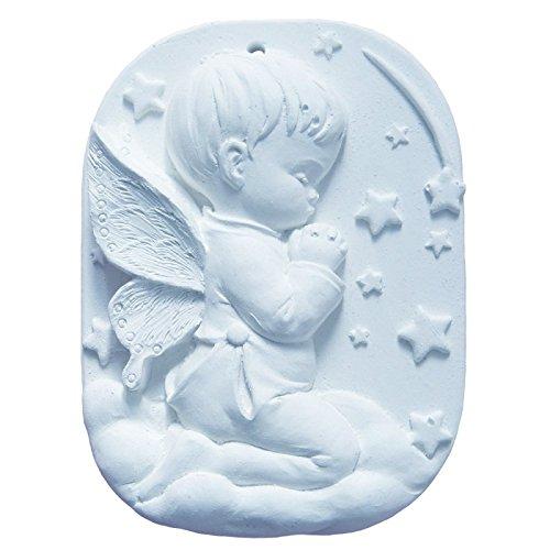 Arte Rosa - Cradle Medallion jongen zacht blauw naar parfum