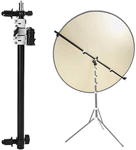 Selens Teleskop Reflektor Halterung Ausziehbare 360 Grad Schwenker Boom Arm Unterstützung mit Einstellbarer Länge 55-135cm für Fotostudio Produkte und Porträtfotografie