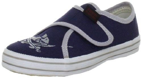 Capt'n Sharky Jungen 140006 Gymnastikschuhe, Blau (blau/grau), 23 EU