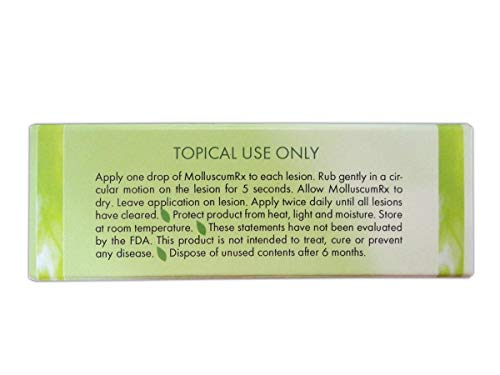 MolluscumRx REFERRED & Sold by Dermatologists Nationwide! Pain-Free! Organic! Guaranteed!