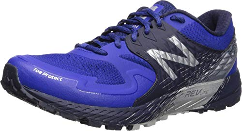 New Balance Men's SKOM-Summit King of The Mountain V1 Trail Running Shoe, uv Blue/Pigment/Silver Metallic, 10.5 2E US