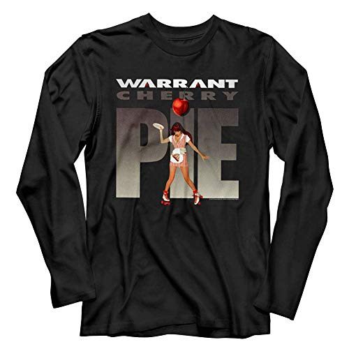 Warrant American Glam Metal Band Cherry Pie Adult Long Sleeve T-Shirt Tee