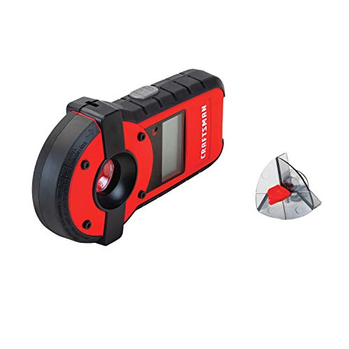 CRAFTSMAN Laser Level and Stud Sensor, 20-Foot Visbility Range (CMHT77636)