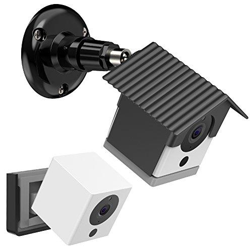 Soporte para Montaje en Pared BECEMURU Estabilidad ABS Soporte para Montaje en Pared Soporte de enrutador con Destornillador para C/ámara Domo YI//C/ámara dom/éstica YI Cloud