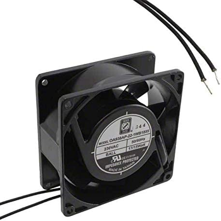 FAN Large special price AXIAL 92X38MM 230VAC of WIRE 2 Pack Max 80% OFF