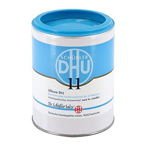 DHU Schüßler-Salz Nr. 11 Silicea D12 Tabletten, 1000 St. Tabletten