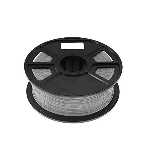 Pceewtyt Gray 1Kg-Pla Filament 1.75Mm Plastic Rubber Consumables Material 3D Carbon Fiber 3D Filament 1.75 Impressora 3D Filament for Print