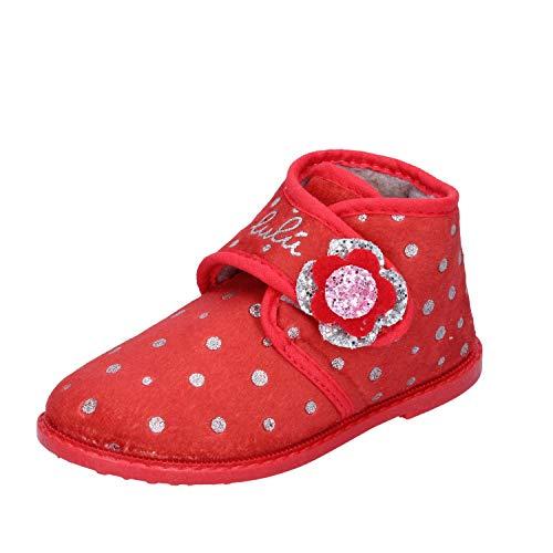 LULU' Sloffen Baby Meisjes Textiel Rood