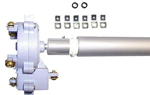 Zebco Rhino Fahrstufenschalter Upgrade Kit, Reparaturset für Rhino R-VX 28 - 34 - 44 - 54 - 80 bis Motorennummer 58397