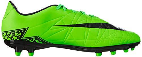 Nike Herren Hypervenom Phelon II FG Laufschuhe, Grün (Green Strike/Black/Black), 42.5 EU