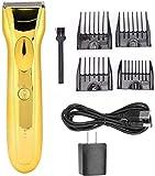 Cortapelos profesional sin cable para hombres Eléctrica cortadora de cabello clipper pelo de la barba de pelo podadoras...