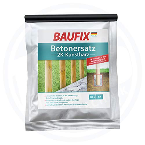 Baufix Betonersatz 2K Kunstharz Beton Ersatz 300 ml Montage Naturuntergrund