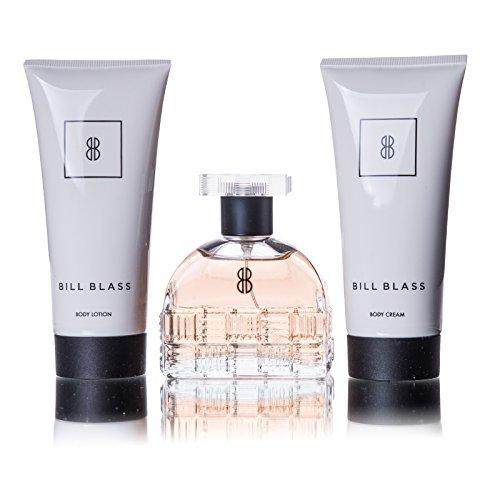 Bill Blass Set ( Eau De Parfum 80 Ml Spray+Body Cream 100 Ml + Body Lotion 100 Ml)