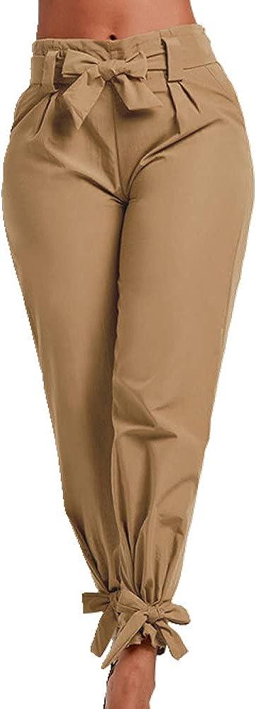NP Summer Ebay Color Waist Loose Trousers Casual Pants Belt