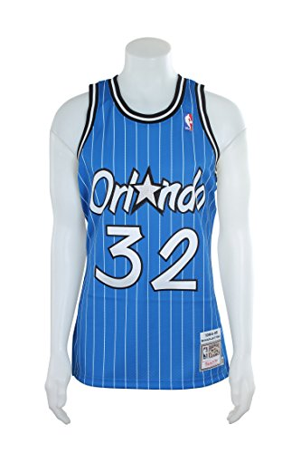 Mitchell & Ness 72263MG94SONE4 Men Orlando Magic Shaq O'Neal Nostalgia Blue