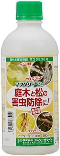 ニッソーグリーン 殺虫剤 マツグリーン液剤2 500ml