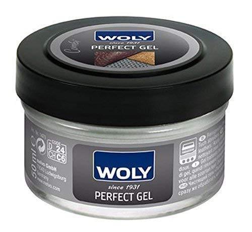 Woly Perfect Gel En GRATIS Polijstdoek - Geweldig voor het reinigen en conditioneren van alle leer.
