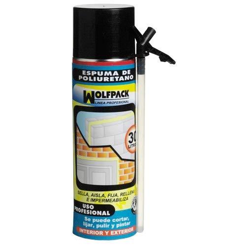 WOLFPACK LINEA PROFESIONAL 14010154 Espuma Poliuretano 500 ml. con Cánula
