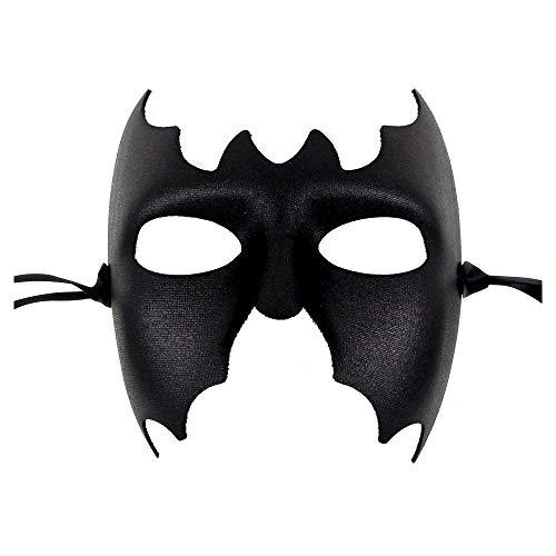 Samantha Peach Batman Schwarz Männer Maskerade Maske Herren - Erstklassige Qualität, in Italien Gemacht