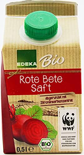 Edeka Bio Rote Bete Saft, 8er Pack (8 x 0.5 l)