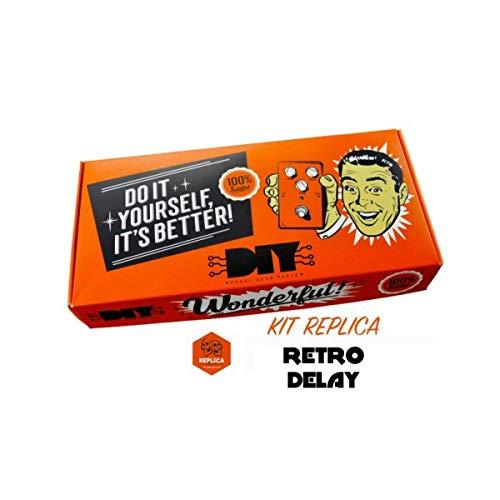 DIYPedalGearParts ® Kit Retro Delay réplica.