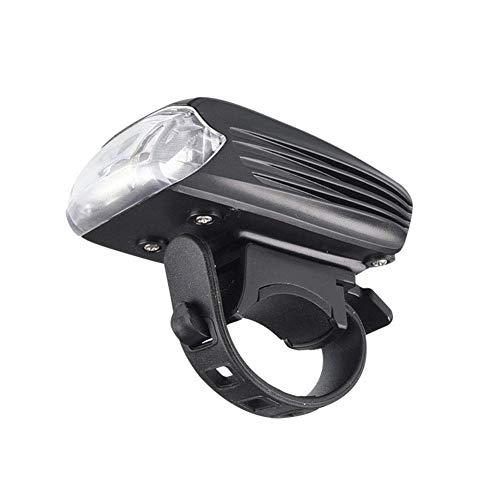 WYFDM Faros de Bicicleta, los últimos Faros Impermeables Recargables USB de Alto Brillo 2019, 4 Modos de Brillo Medio, Luces de Trabajo, Linterna de deslumbramiento para Bicicleta de montaña-Black